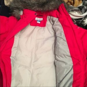 Columbia winter down filled jacket